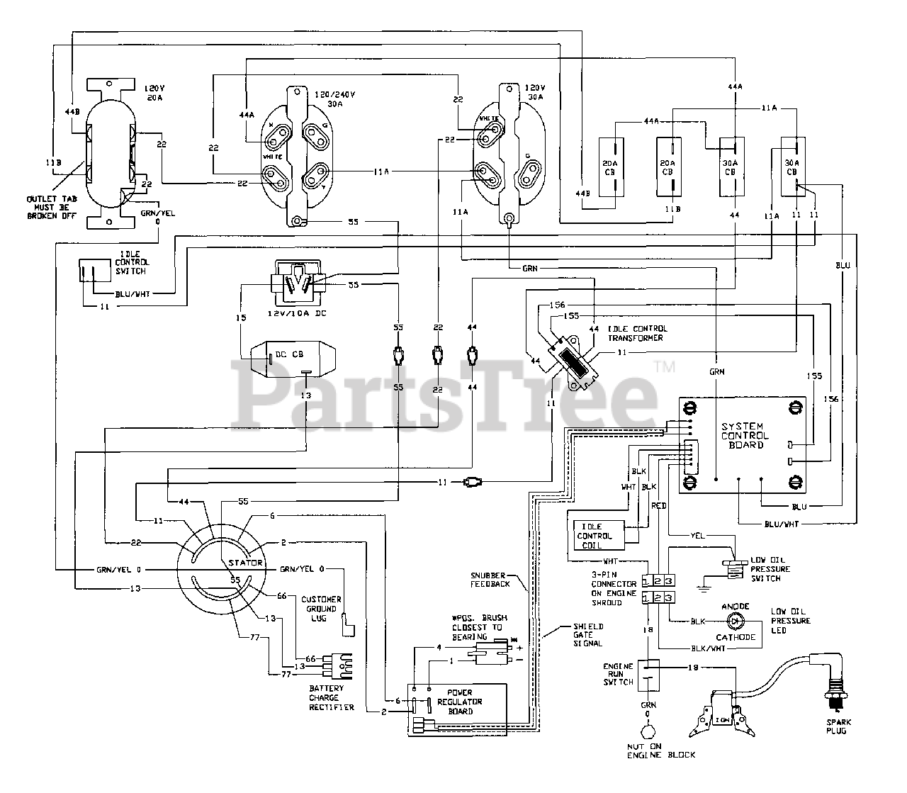 [DIAGRAM] Generac 5500 Watt Generator Wiring Diagram FULL