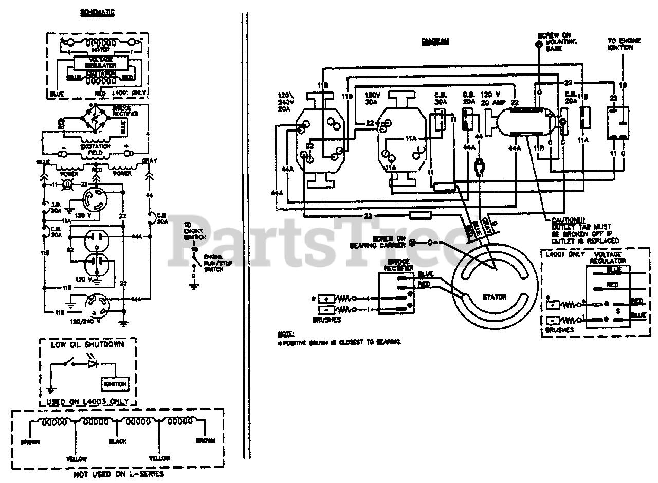 Generac Generator Wiring Diagram : 4000 Watt Generac