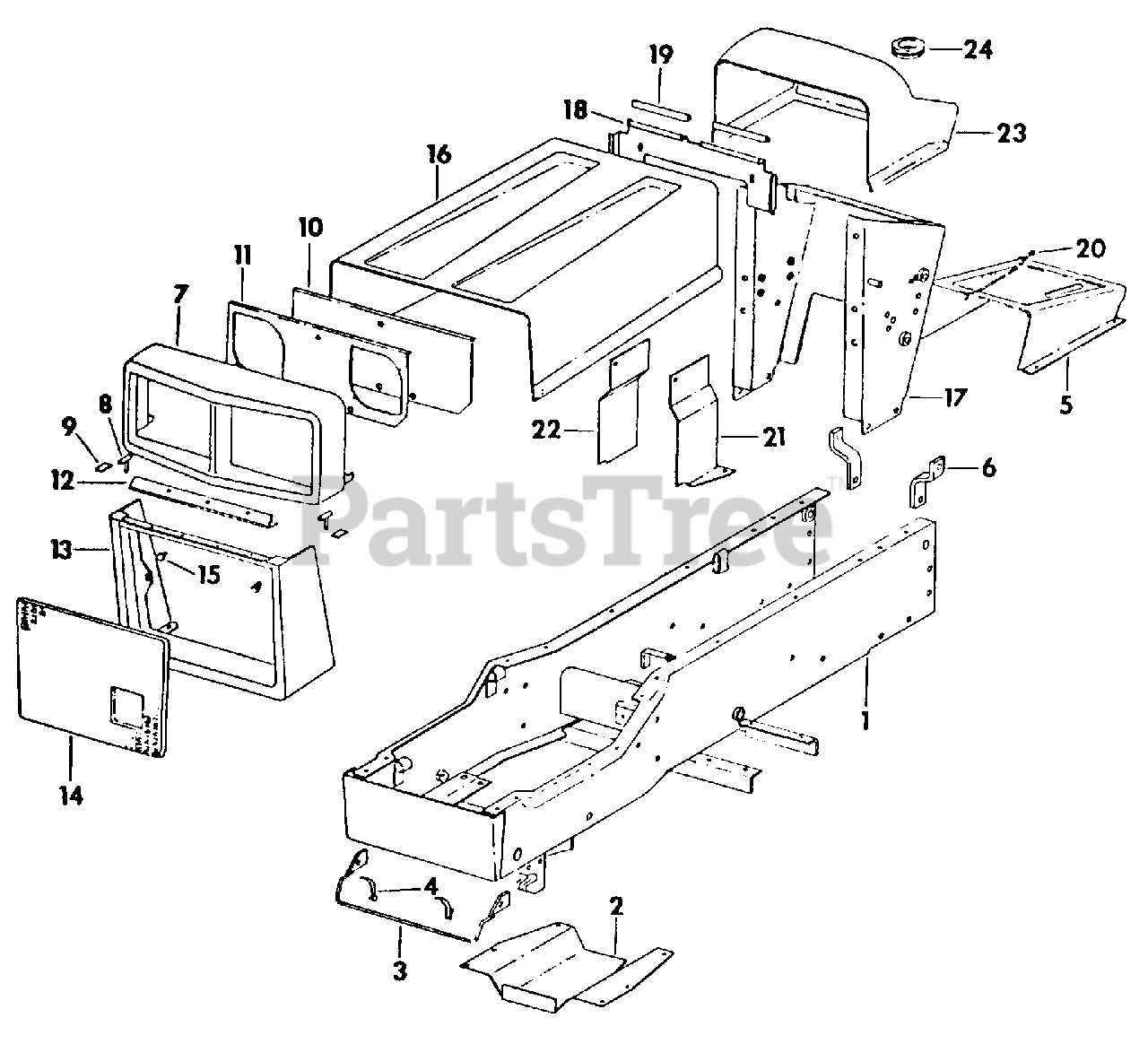 [DIAGRAM] Cub Cadet 129 Parts Diagram FULL Version HD