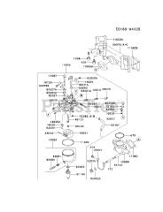 Kawasaki parts and diagrams for Kawasaki FD590V-ES08