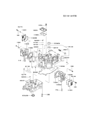 Kawasaki parts and diagrams for Kawasaki FD590V-BS05