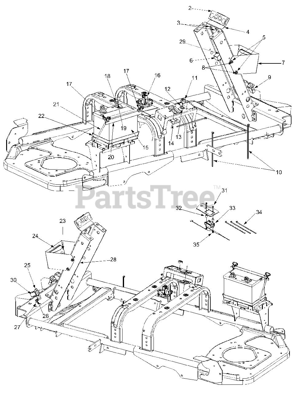 Cub Cadet Zero Turn Wiring Diagram. cub cadet rzt 50 parts