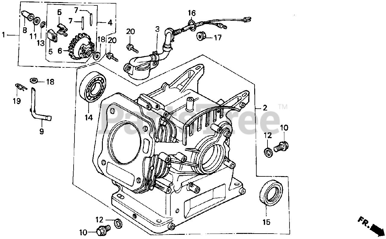 Honda Gx160 K1 Qax Gc02