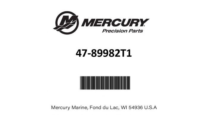 Mercury 47-89982T1 Outboard Water Impeller Repair Kit