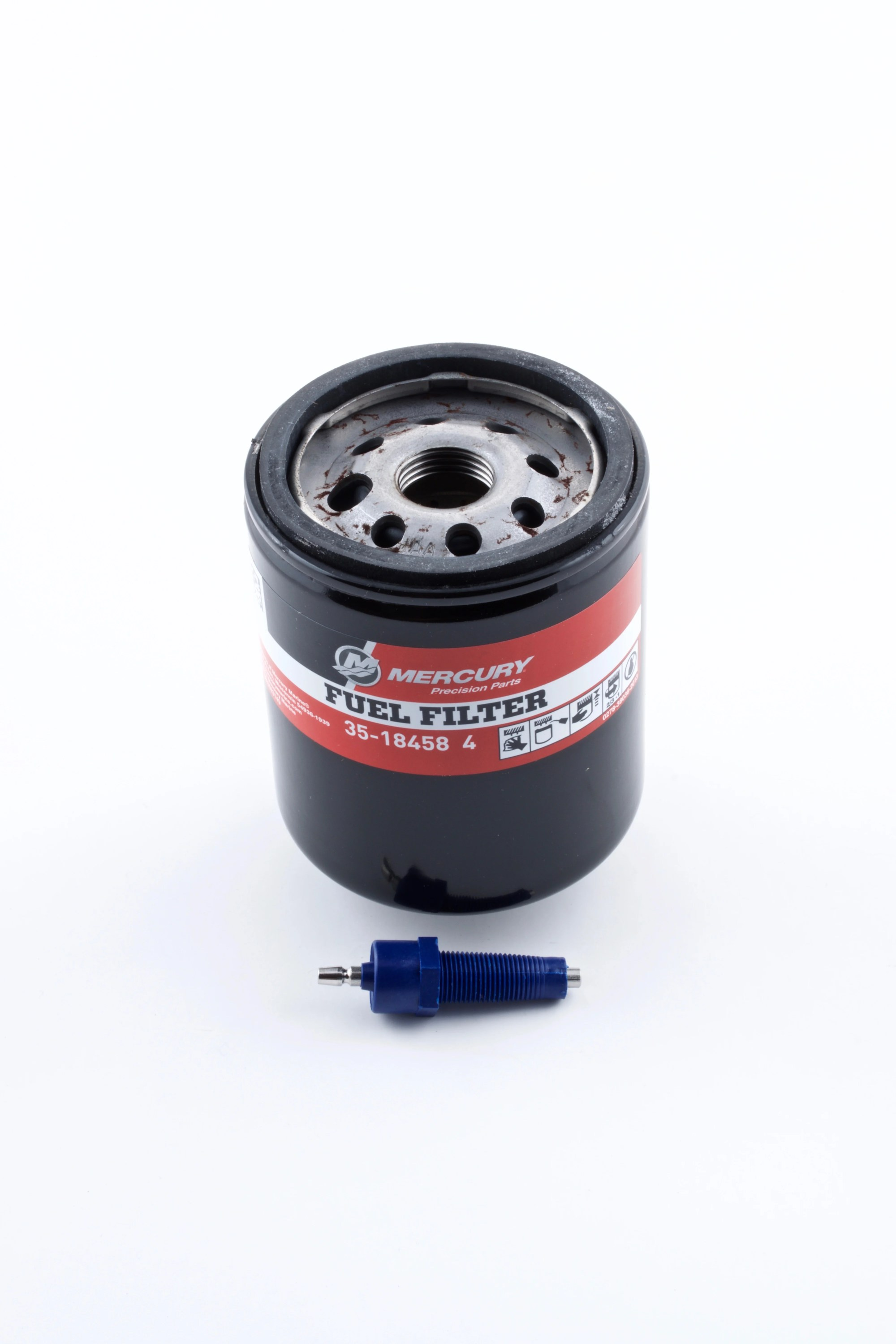 hight resolution of mercury outboard fuel filter