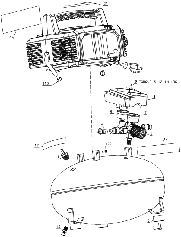 related with wiring diagram for bostitch air compressor