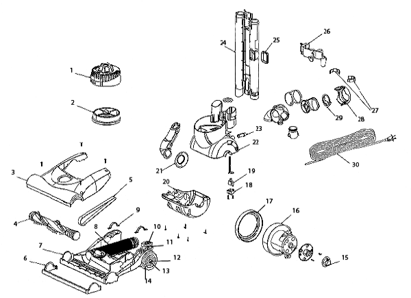 Wiring Diagram For Sears Vacuum Cleaner Wiring Diagram For