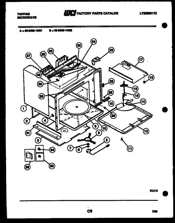 Tappan 56-9338-00-02 (V6) Microwave Parts and Accessories