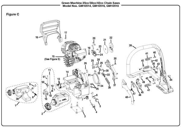 18 42cc craftsman chainsaw manual
