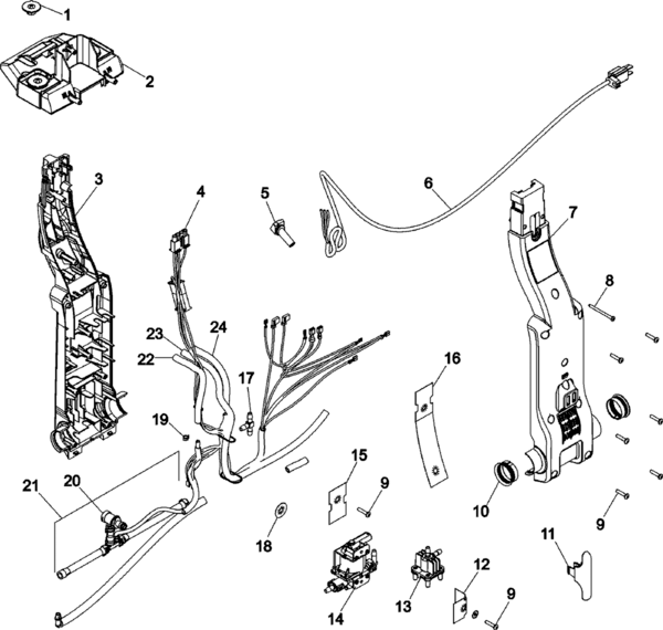 Hoover F7424 Parts and Accessories- PartsWarehouse