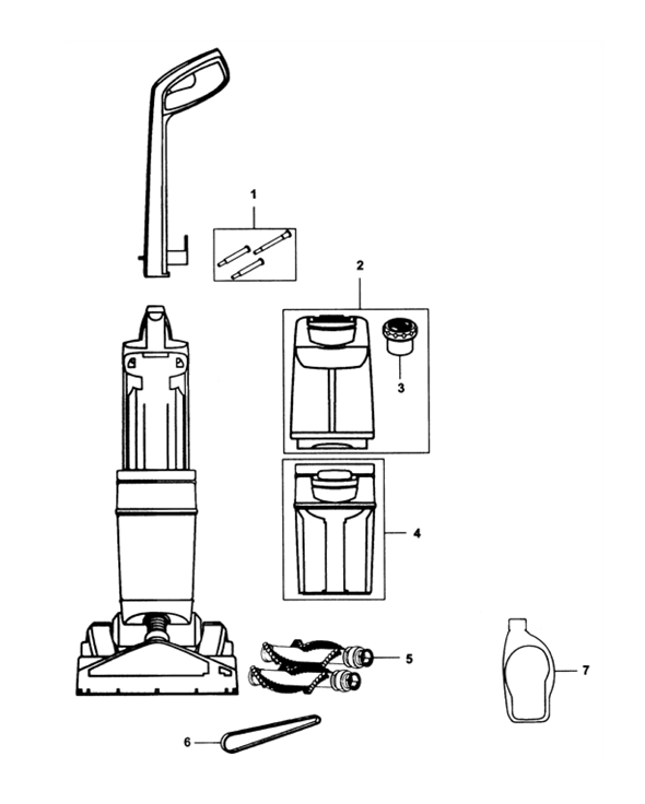 vax carpet washer parts