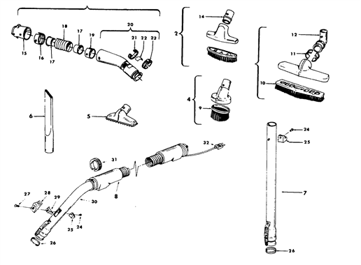 Hoover S3153 Parts and Accessories- PartsWarehouse