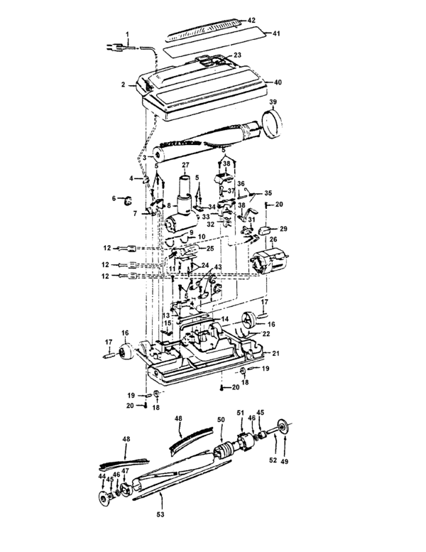 Hoover S5703 Parts and Accessories- PartsWarehouse