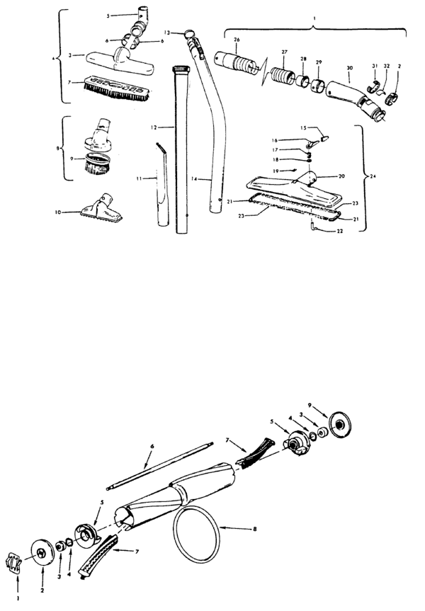 Hoover U4169 Parts and Accessories- PartsWarehouse