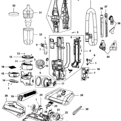 Hoover Windtunnel T Series Parts Diagram Compu Fire Ignition Wiring Uh70830 2 Rewind Pet Vacuum