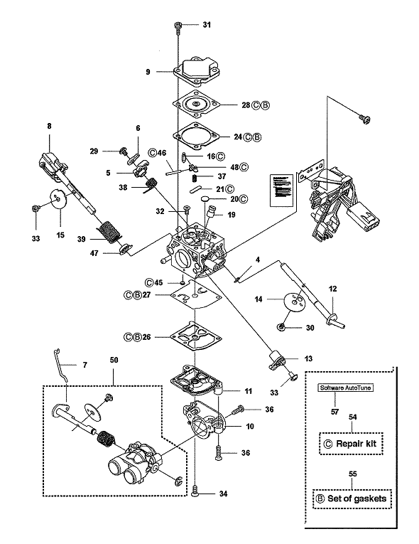 35 Husqvarna Chainsaw Carburetor Adjustment Diagram