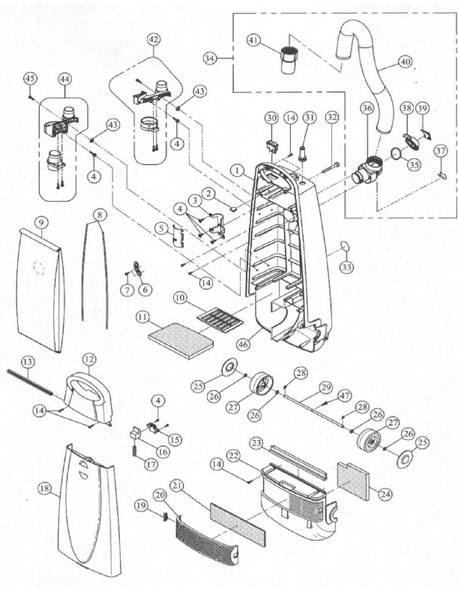 Vacuum Parts: Miele Vacuum Parts Diagram
