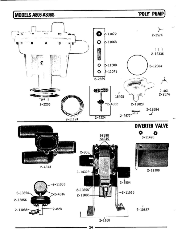 Maytag A806S Washer Parts and Accessories at PartsWarehouse