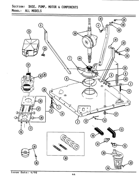 Maytag A9200 Washer Parts and Accessories at PartsWarehouse