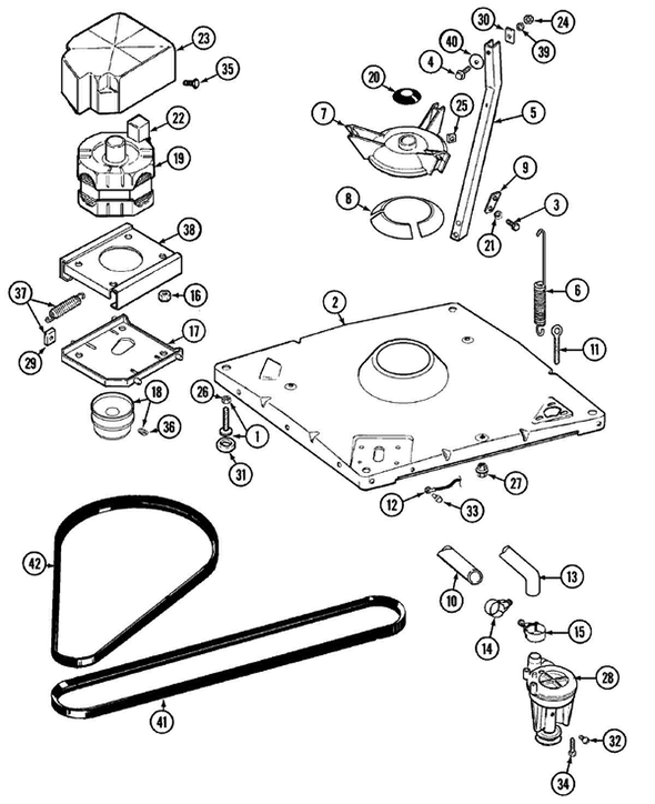 Maytag LAT9406AAE Washer Parts and Accessories at