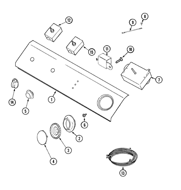 Maytag LDE9306ADM Electric Dryer Parts and Accessories at