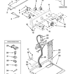 Electrolux Wiring Diagram Electron Dot For Al Maytag Med5770tq0 Dryer Parts And Accessories At Partswarehouse