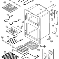 Smeg Double Oven Wiring Diagram Plant To Label Maytag Mer6770aaw Freestanding Electric Range Parts And Accessories