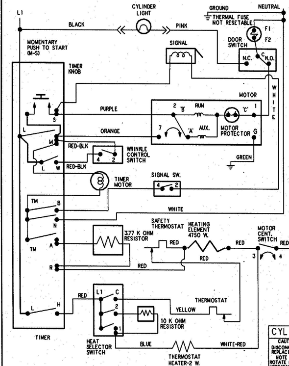 Modern Maytag Dryer Wiring Diagram Pictures Everything You