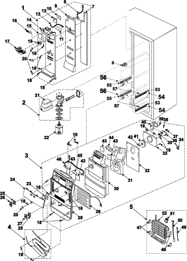 Samsung Refrigerator Model Rs2555sl Wiring Diagram