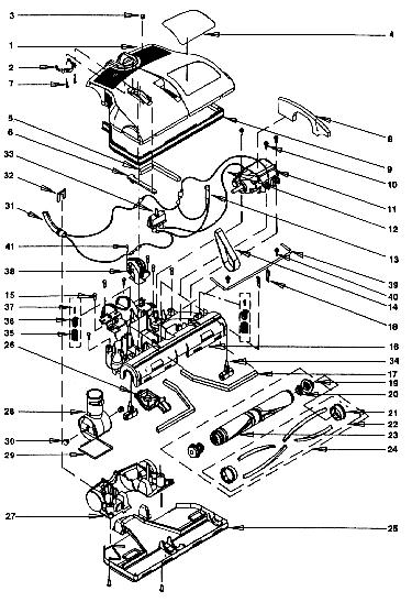 Miele Vacuum Parts Diagram. Wiring. Wiring Diagram Images