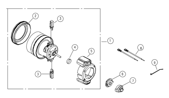 Riccar 8920 Parts & Vacuum Repair Diagrams
