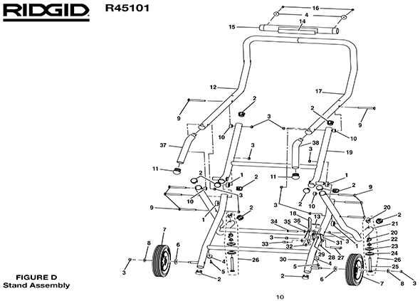 Ridgid R45101 Table Saw Parts and Accessories- PartsWarehouse