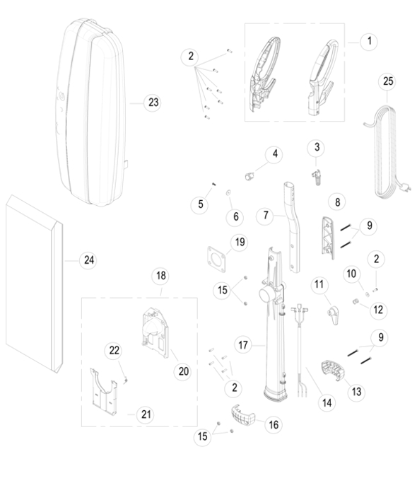 Simplicity S10D Freedom Deluxe Parts