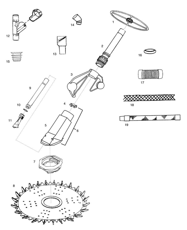 baracuda pool cleaner parts diagram 1992 mazda b2200 radio wiring zodiac pacer and accessories partswarehouse