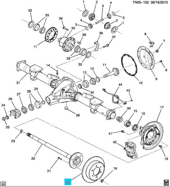 Service Manual Diagram Of How A 2005 Hummer H2