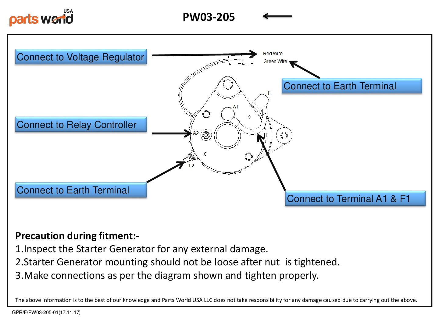 hight resolution of starter generator installation diagram for yamaha golf carts