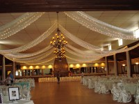 Beautiful Ceiling Draping Ideas for Weddings Pictures ...