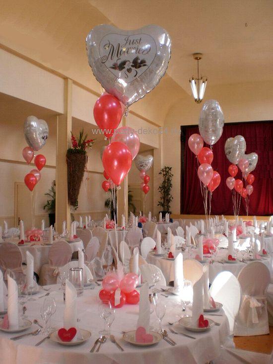 Hochzeitsdekoration  Tischdeko einmal ohne Blumen