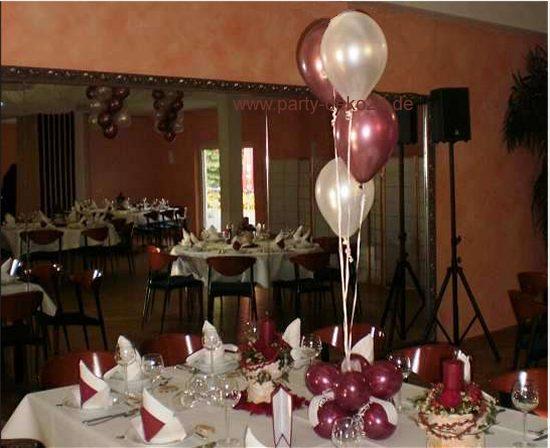 Festliche Tischdekoration fr Gala Ball Event und Promotion