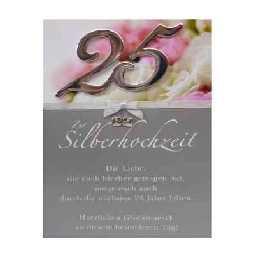 Ideal für persönliche glückwünsche zur silberhochzeit für das jubiläumspaar. Zur Silberhochzeit Glückwunschkarte im Shop: