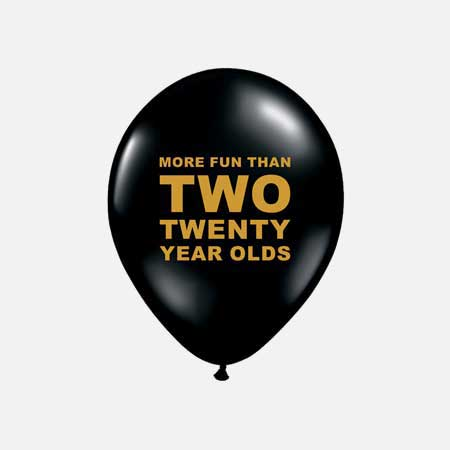 100 40th birthday party