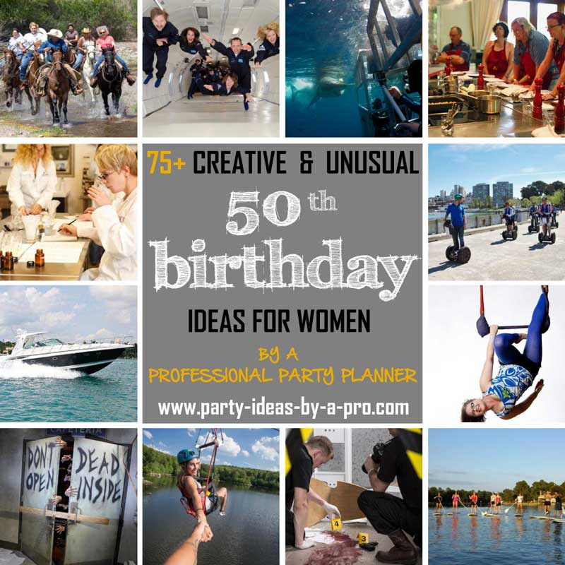 75 creative 50th birthday