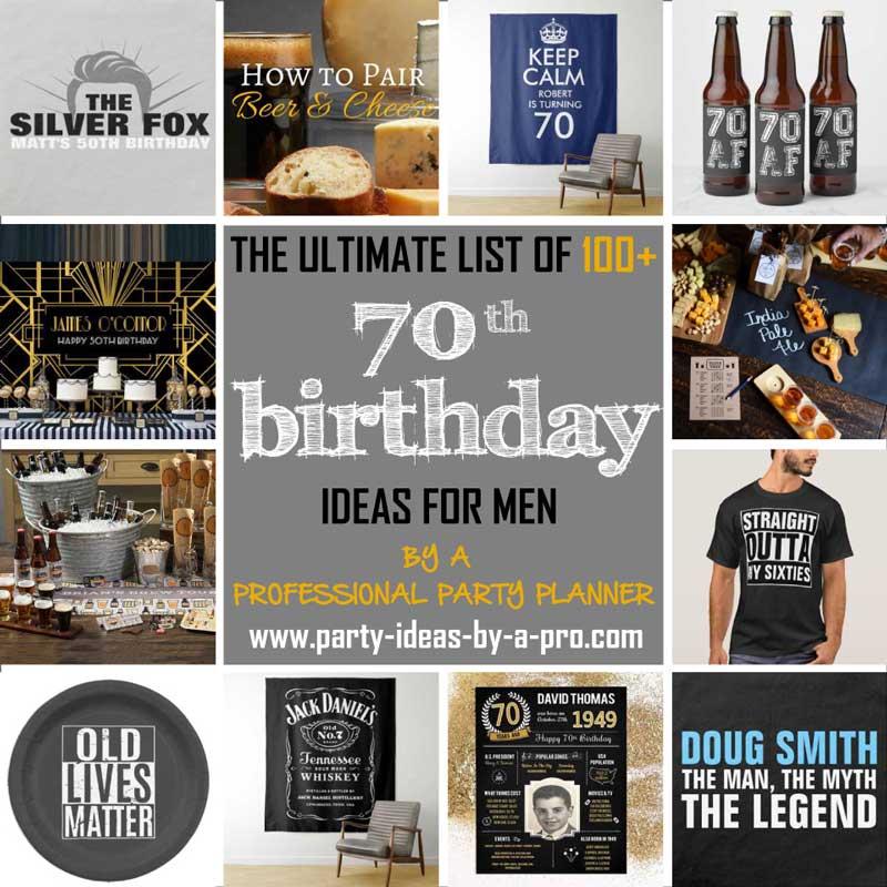 100 creative 70th birthday