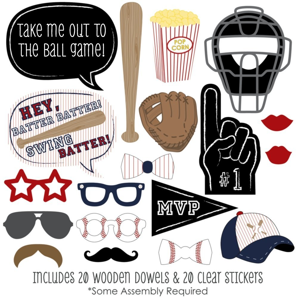 baseball party games by