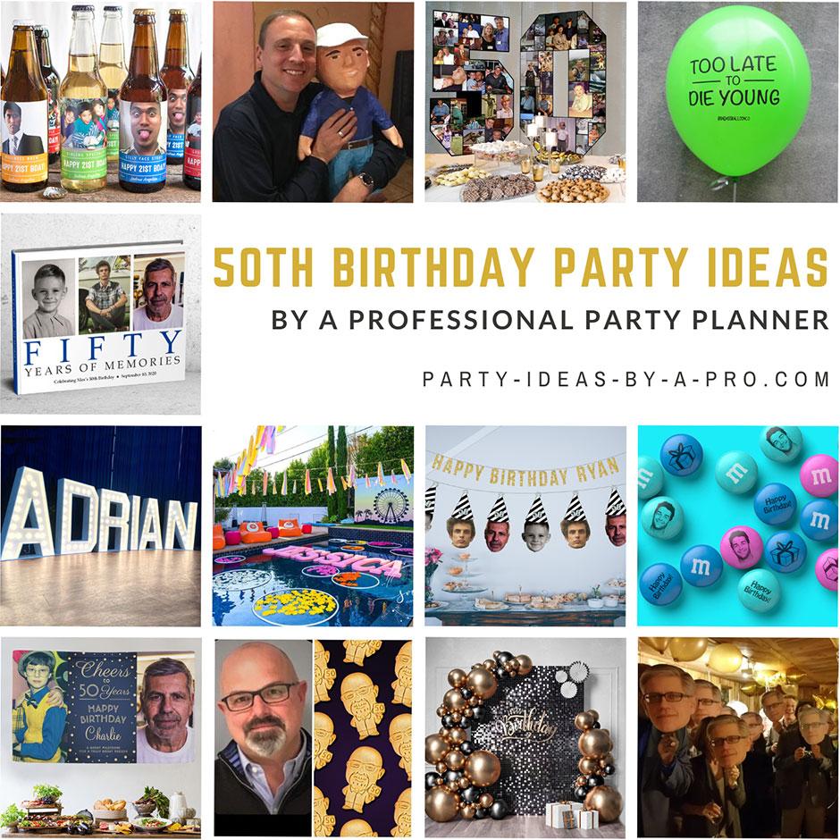 100 50th birthday party