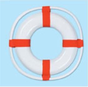 a nautical life preserver
