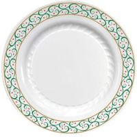 Masterpiece Holiday 7.1/4-inch Plastic Plates Starry ...