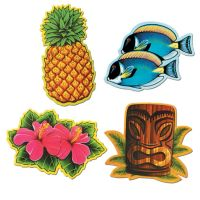 Luau 12-Inch Cutouts: Party at Lewis Elegant Party ...