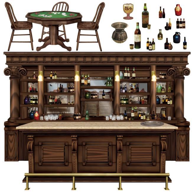 Western Saloon Props