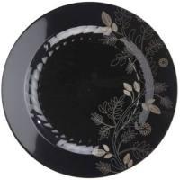 Masterpiece Sonata 10-1/4-inch Plates, Black: Masterpiece ...